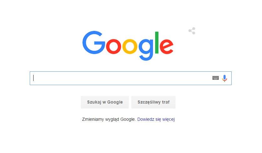Nowy google