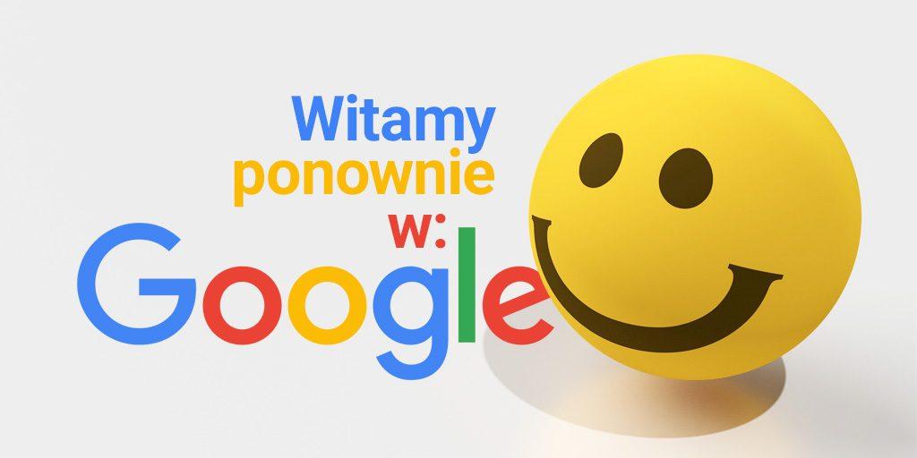 Emoji wróciły do Google – na jak długo?