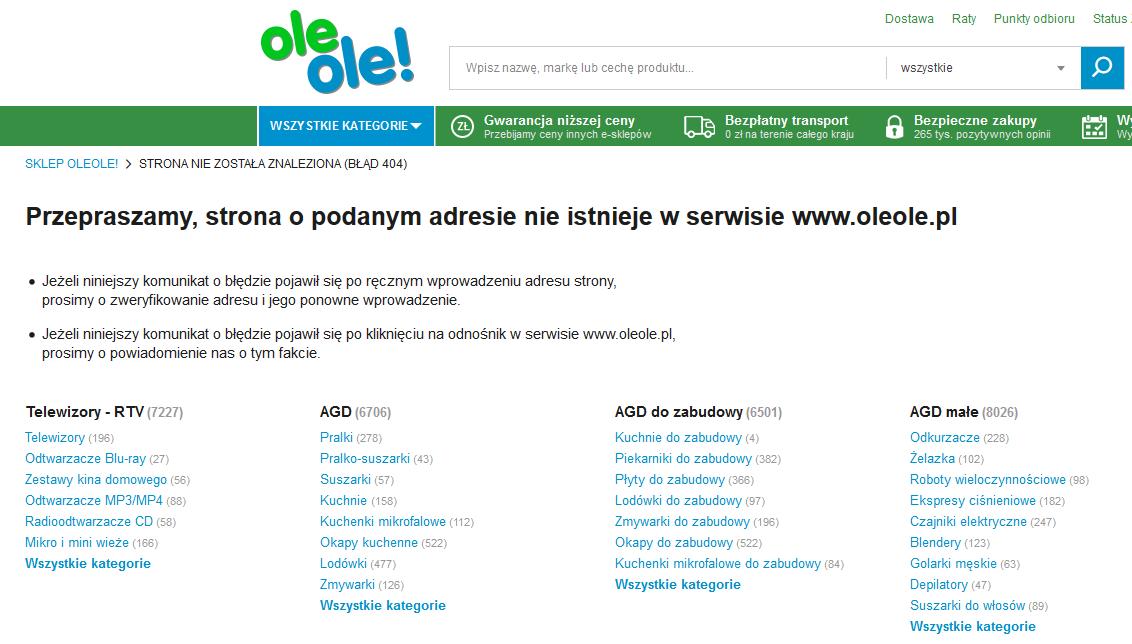d5ad80b0d1f2a Portal onet.pl w przeciwieństwie do sklepu internetowego