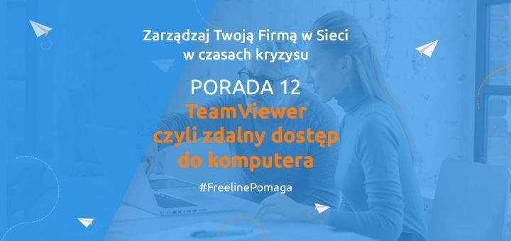 TeamViewer czyli zdalny dostęp do komputera (nie tylko jednego!)